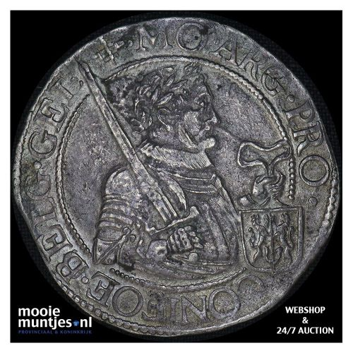 Gelderland - Nederlandse rijksdaalder - 1619 (kant B)