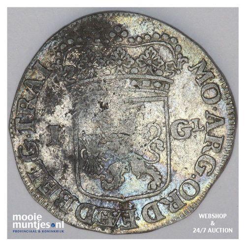 Utrecht - Gulden - 1713 (kant B)