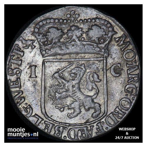 West-Friesland - Gulden - 1714 (kant B)