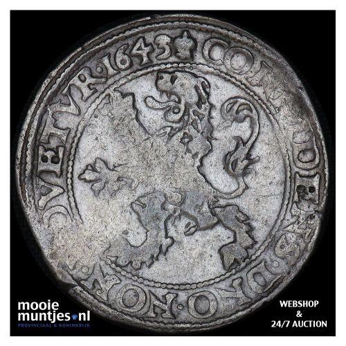 West-Friesland - Halve zilveren rijder of halve dukaton - 1765 (kant A)