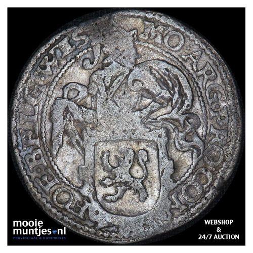 West-Friesland - Halve zilveren rijder of halve dukaton - 1765 (kant B)