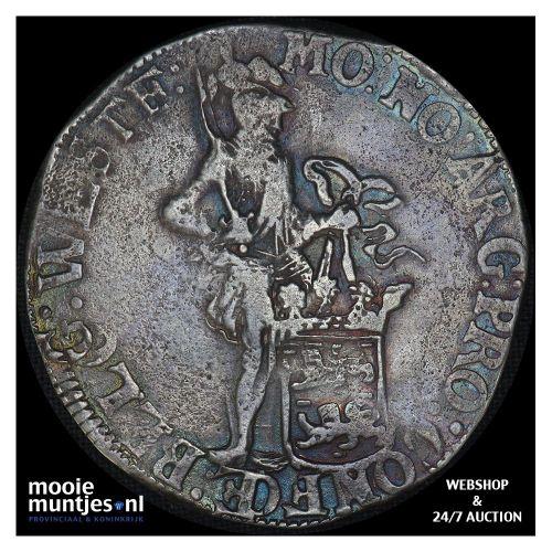 West-Friesland - Zilveren dukaat - 1661 (kant B)