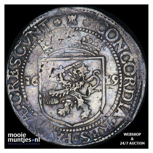 Zeeland - Nederlandse rijksdaalder - 1619 (kant A)