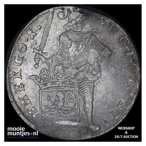 Zeeland - Zilveren rijder of dukaton - 1659 (kant B)