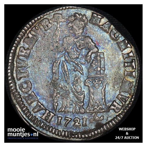Overijssel - Gulden - 1721 (kant A)