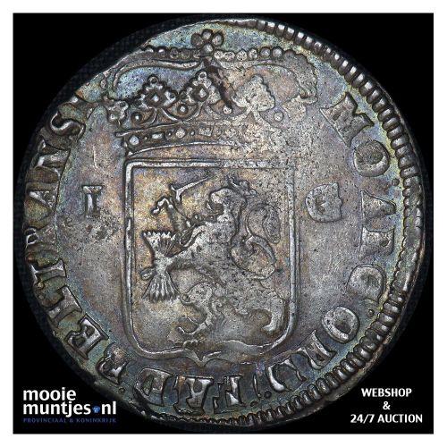 Overijssel - Gulden - 1721 (kant B)