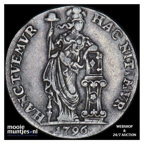 Gelderland - Duit - 1761 (kant A)