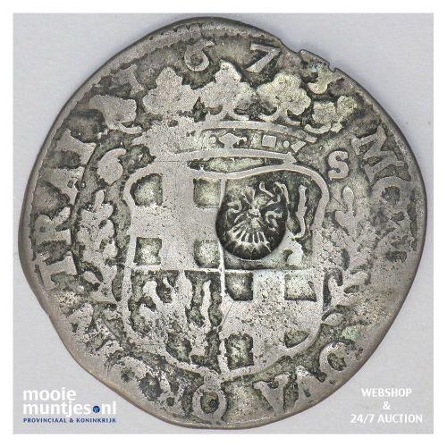 Utrecht - Rijderschelling - 1677 over 75 (kant A)