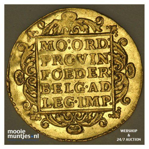 Utrecht - Gouden dukaat - 1743 (kant B)