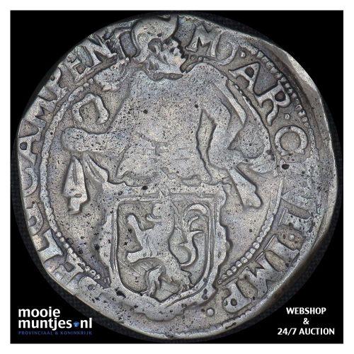 Kampen - Halve leeuwendaalder - 1647 (kant B)