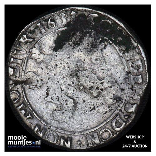 Zeeland - Zilveren dukaat - 1764 (kant A)