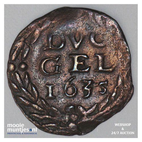 Gelderland - Duit - 1635 (kant A)