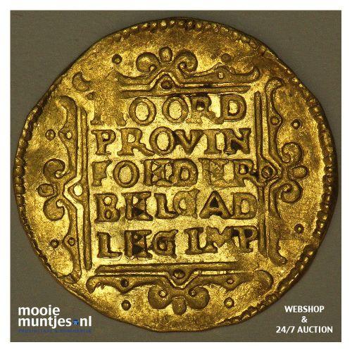 Gelderland - Gouden dukaat - 1649 (kant B)