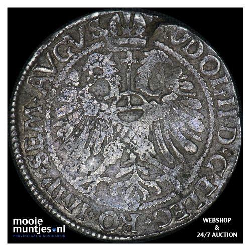 Kampen - Halve arendsrijksdaalder - 1596 (kant B)