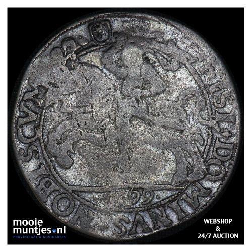 Kampen - Halve arendsrijksdaalder - 1596 (kant A)