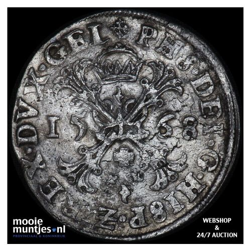 Gelderland - Tweegulden - 1694 (kant A)