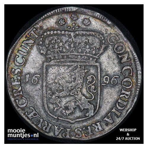 Zeeland - Zilveren rijder of dukaton - 1790 (kant A)
