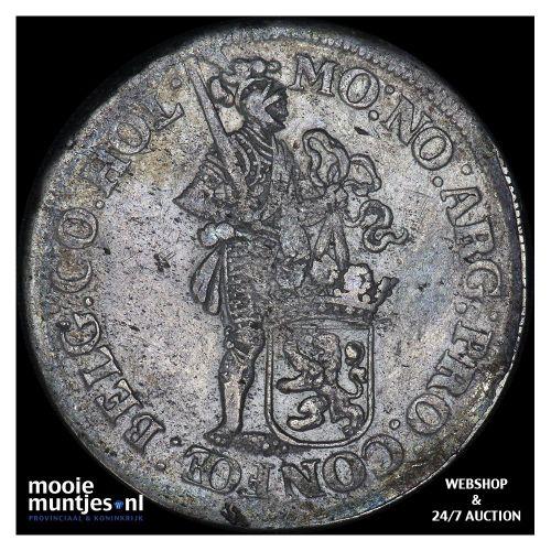 Holland - Zilveren dukaat - 1663 (kant B)