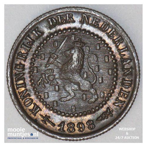 2½ gulden - Willem III - 1863 (kant A)