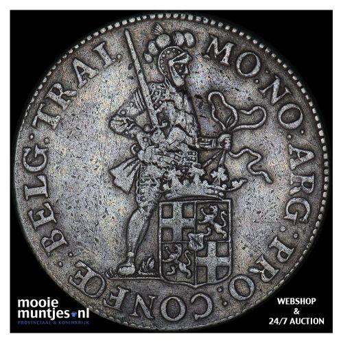 Utrecht - Zilveren dukaat - 1799 (kant B)