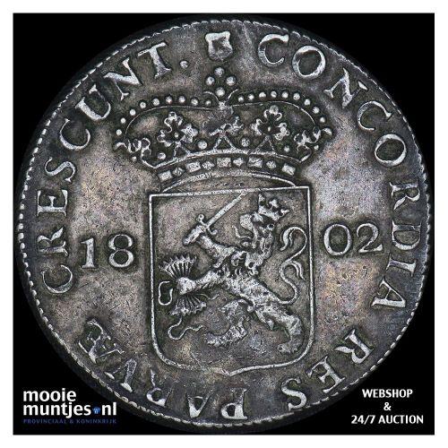 Utrecht - Zilveren dukaat - 1799 (kant A)