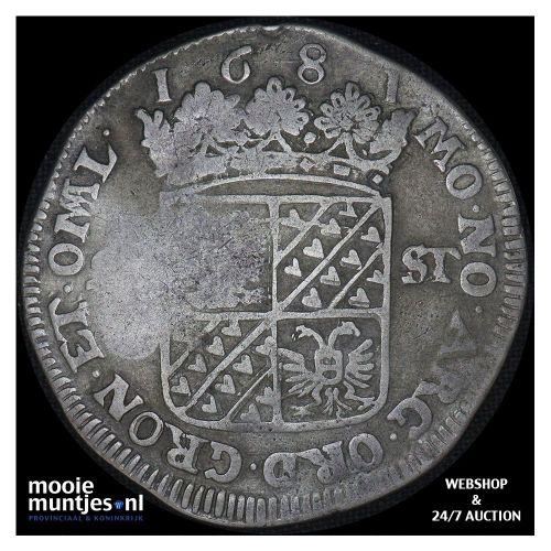 West-Friesland - Zilveren dukaat - 1772 (kant A)