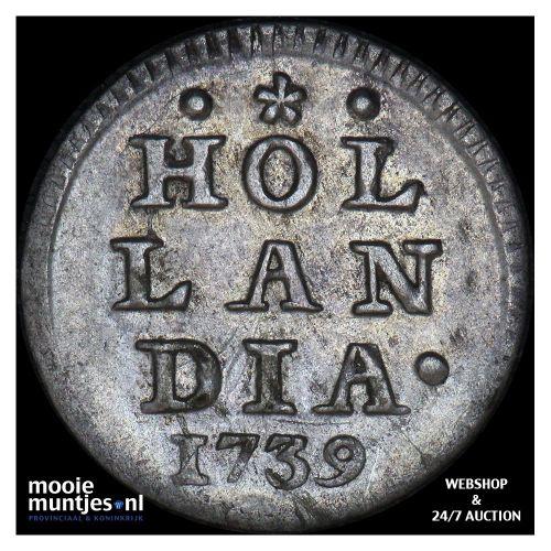Holland - Pijl- of bezemstuiver - 1739 (kant A)