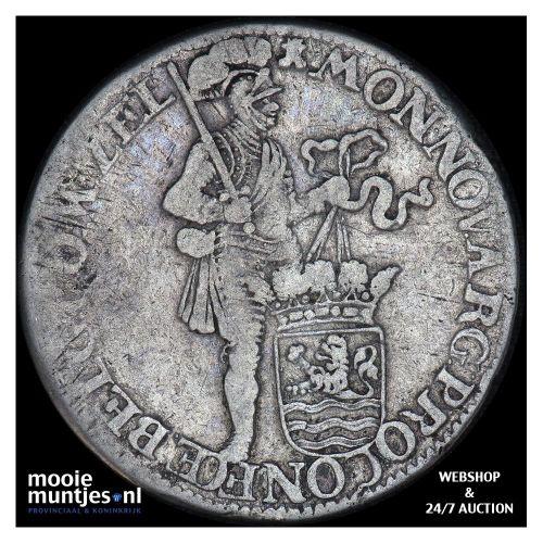 Zeeland - Zilveren dukaat - 1672 (kant B)
