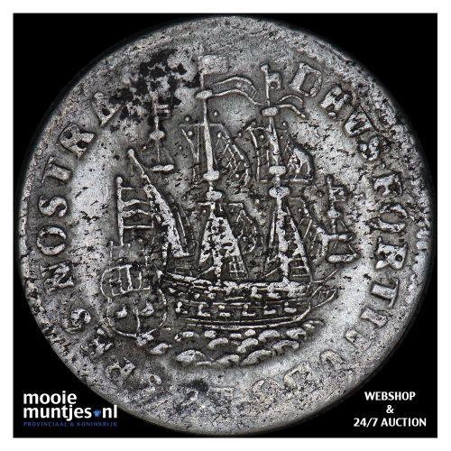 West-Friesland - Gulden - 1705 (kant B)