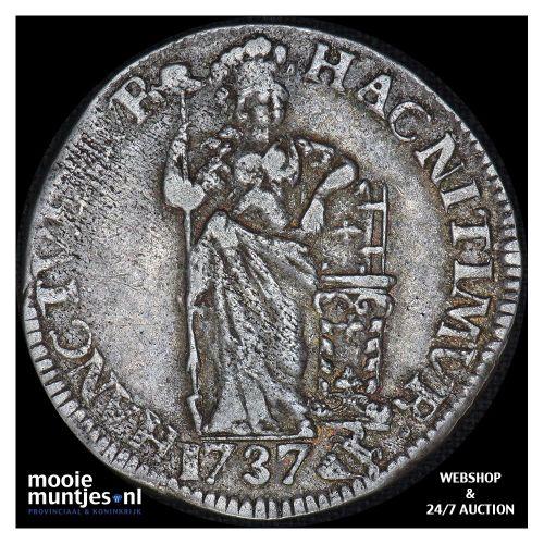 Gelderland - Gulden - 1762 (kant A)