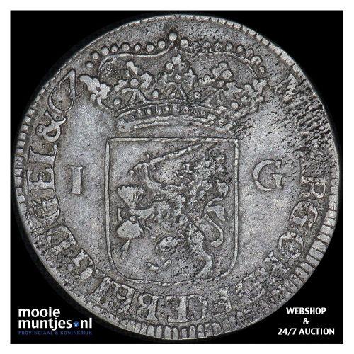 Gelderland - Gulden - 1762 (kant B)
