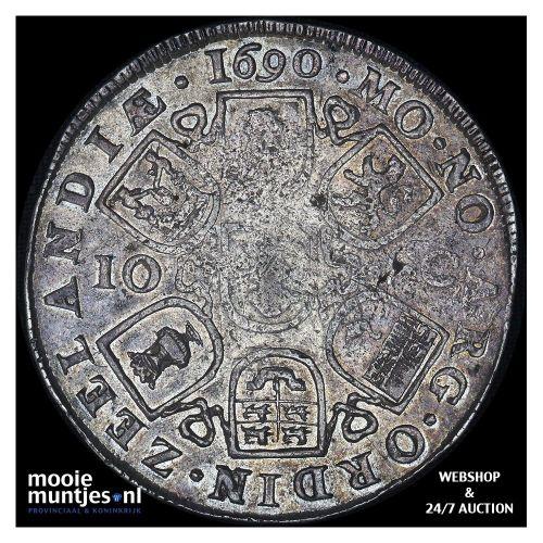 Zeeland - Dubbele daalder of 10 schelling - 1690 (kant A)