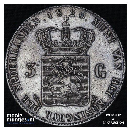 5 cent - Willem II - 1848 (kant A)