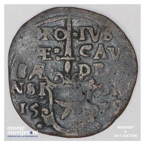 Maastricht stad - 16 stuiver - 1579 (kant A)