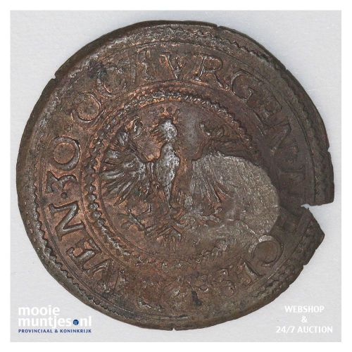 Deventer - Halve stuiver - 1578 (kant A)