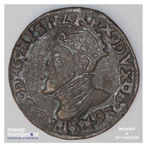 Overijssel - Duit - 1741 (kant A)