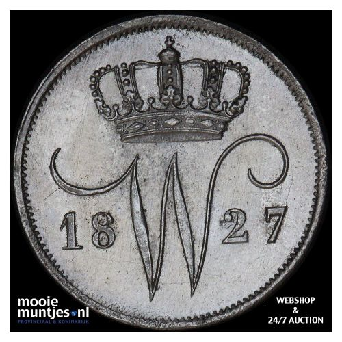 10 cent - Willem III - 1871 (kant A)