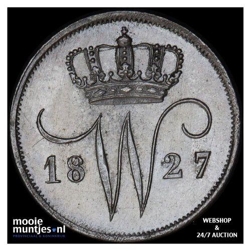 10 cent - Willem III - 1871 (kant A)