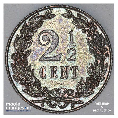 2½ cent - Wilhelmina - 1912 (kant B)
