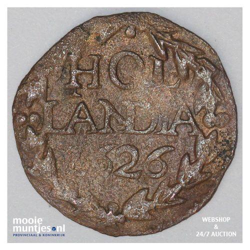 Holland - Duit - 1780 (kant A)