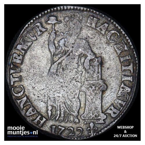 Overijssel - Leeuwendaalder - 1639 (kant A)