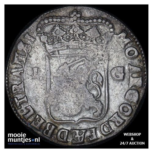 Overijssel - Leeuwendaalder - 1639 (kant B)