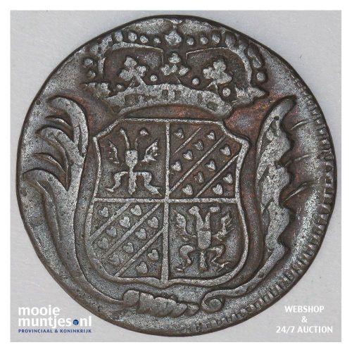Groningen - Duit - 1770 kleine letters (kant B)