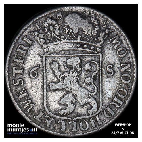 Holland - Halve reaal - z.j. (1560-1562) (kant A)