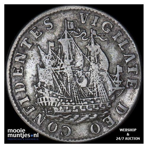 Holland - Halve reaal - z.j. (1560-1562) (kant B)
