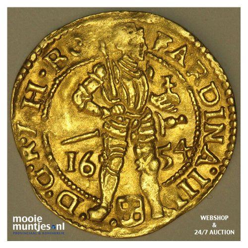 Zwolle - Gouden dukaat - 1654 (kant A)