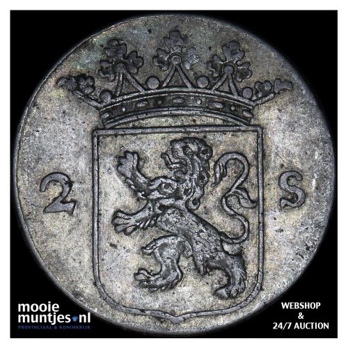 Utrecht - 2 stuiver - 1799 (kant B)