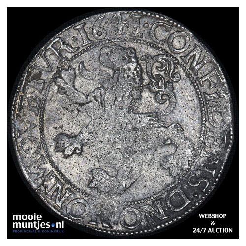 Overijssel - Leeuwendaalder - 1641 (kant A)