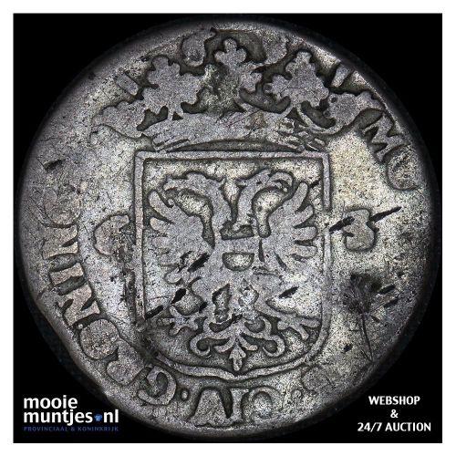 Stad Groningen - Rijderschelling - 1691 (kant A)