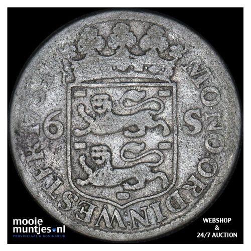 West-Friesland - Scheepjesschelling - 1734 (kant A)